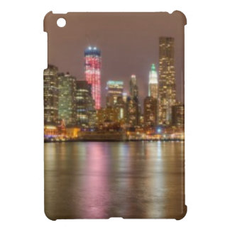 A panorama of the New York City skyline iPad Mini Cases
