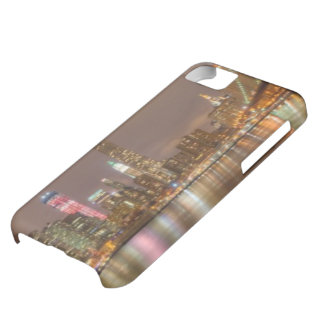 A panorama of the New York City skyline iPhone 5C Case