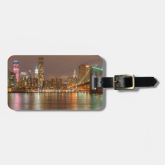 A panorama of the New York City skyline Luggage Tag