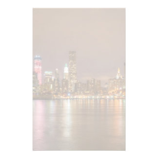 A panorama of the New York City skyline Stationery