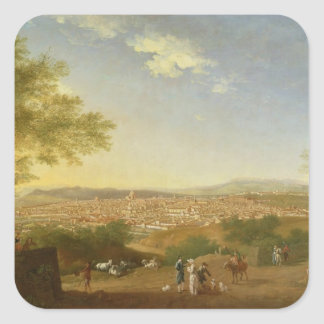 A Panoramic View of Florence from Bellosguardo, 17 Stickers