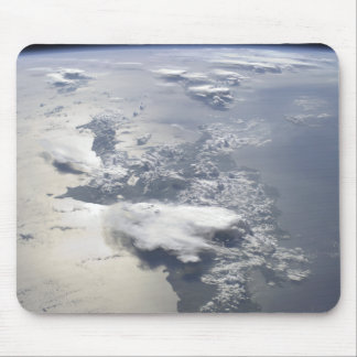 A panoramic view of the island of Hispaniola Mouse Mat