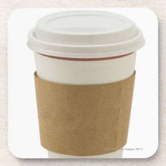 A paper coffee Cup Coaster
