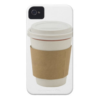 A paper coffee Cup iPhone 4 Cover