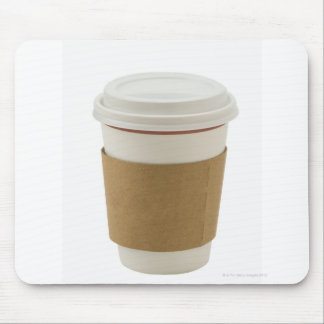 A paper coffee Cup Mouse Mat