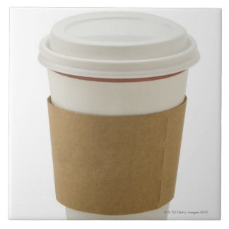 A paper coffee Cup Tile