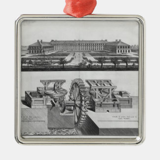 A paper mill christmas ornament