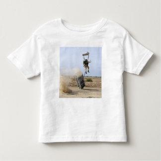 A pararescueman drops into the zone toddler T-Shirt