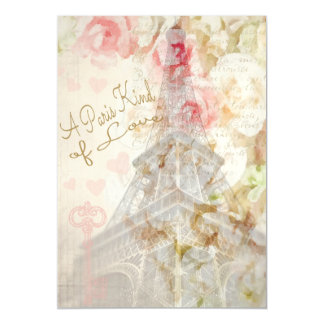 A Paris Kind of Love Magnetic Invitations