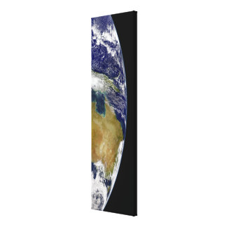 A partial view of Earth showing Australia Canvas Print