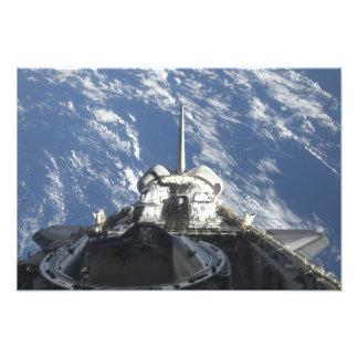 A partial view of Space Shuttle Atlantis Art Photo