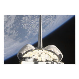 A partial view of Space Shuttle Endeavour Photo Print