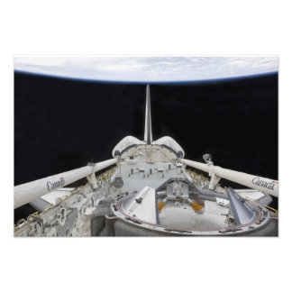 A partial view of Space Shuttle Photo Print