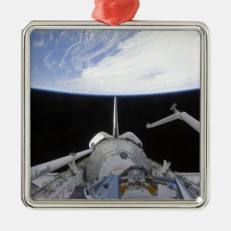 A partial view of the Tranquility node Christmas Ornament