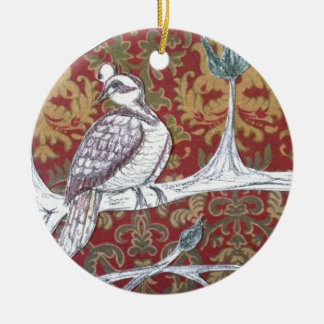 A Partridge in a Pear Tree 3.0 Christmas Ornament