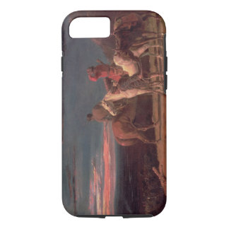 A Party of Explorers, 1851 (oil on canvas) iPhone 8/7 Case