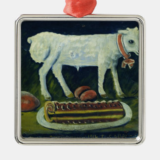 A paschal lamb, 1914 christmas ornament