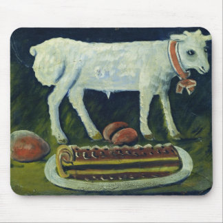 A paschal lamb, 1914 mouse pad