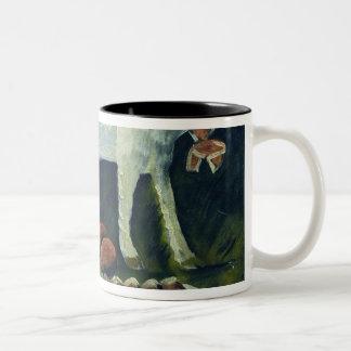 A paschal lamb, 1914 Two-Tone coffee mug