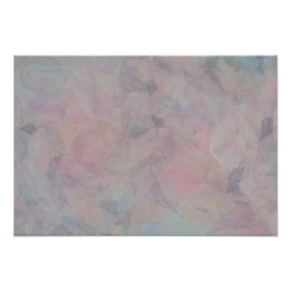 A Pastel and Angelish Sky Poster