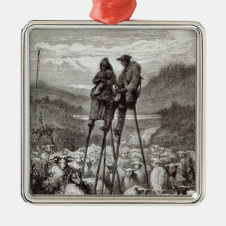 A Pastoral in the Landes Christmas Ornament