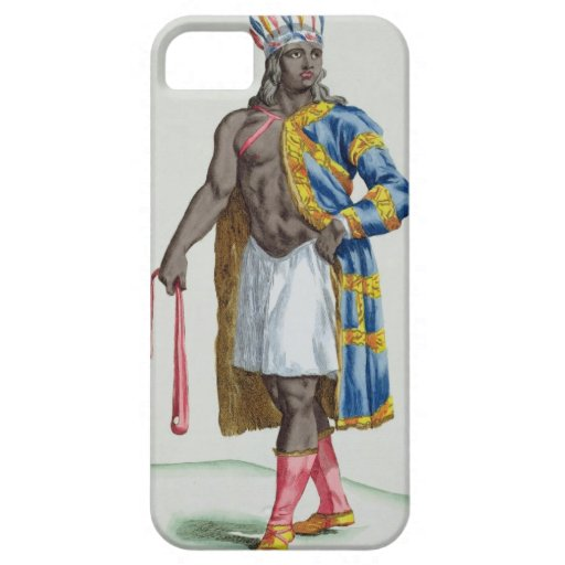 A Patagonian Man, 1780 (coloured engraving) iPhone 5 Case