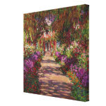 A Pathway in Monet's Garden, Giverny, 1902 Gallery Wrap Canvas