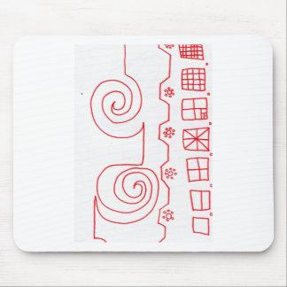 A Pattern March Mousepad