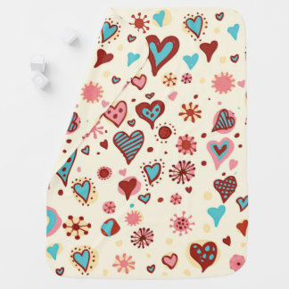 A Pattern of Hearts Pramblankets