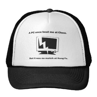 A PC once beat ME RK Chess. Hats