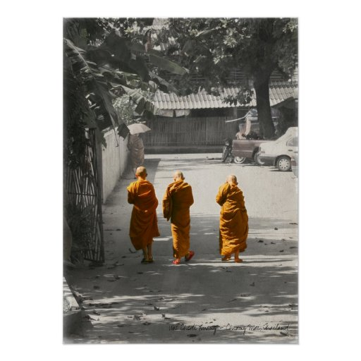 A Peaceful Stroll Poster