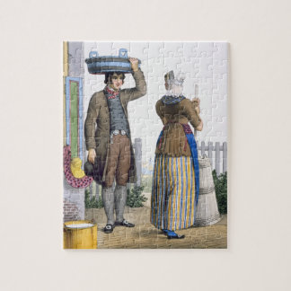A Peasant Couple of Parmerend, North Holland, illu Puzzles