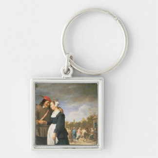 A Peasant Wedding, 1648 Key Ring