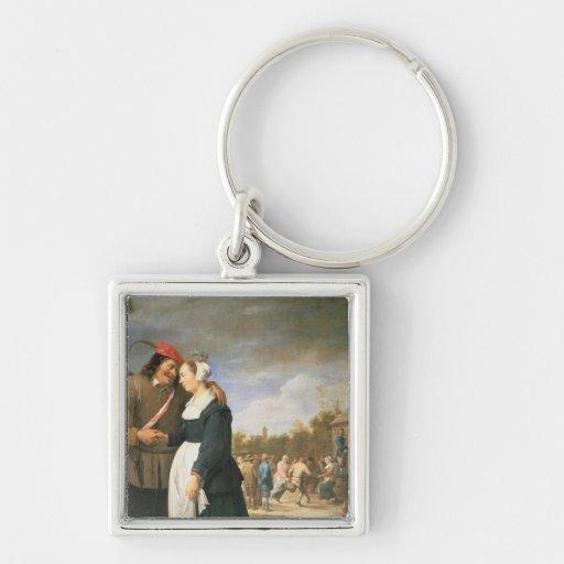 A Peasant Wedding, 1648 Keychains