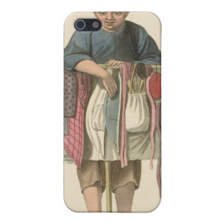 A Pedlar, plate 17 from 'The Costume of China', en iPhone 5 Covers