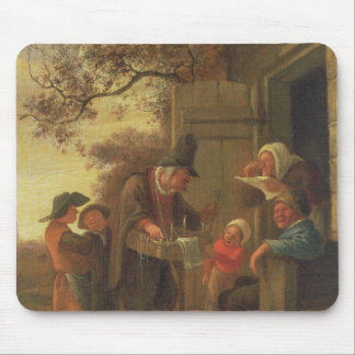 A Pedlar selling Spectacles Mouse Mat