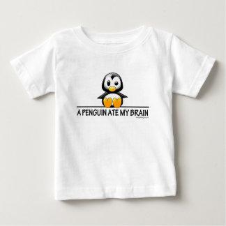 A Penguin Ate My Brain Tee Shirts