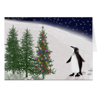 A penguin s Christmas Cards