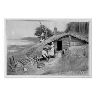 A Pennsylvania Cave-Dwelling Poster