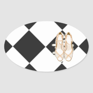 A Perfect Day Oval Sticker