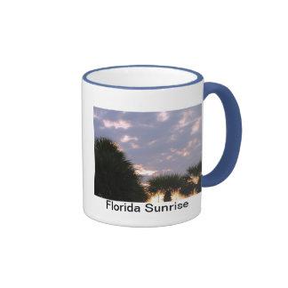 A Perfect Florida Sunrise Ringer Mug