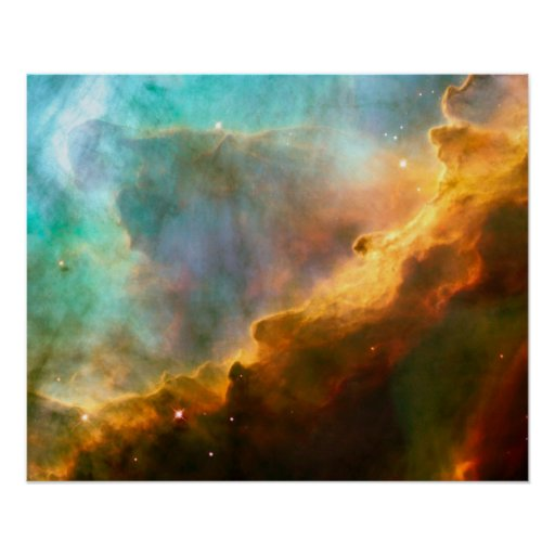 A Perfect Storm of Turbulent Gases Poster