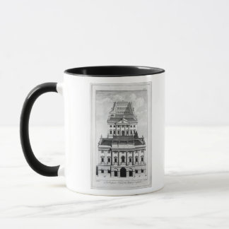 A Perspective View of the Bank of England Mug