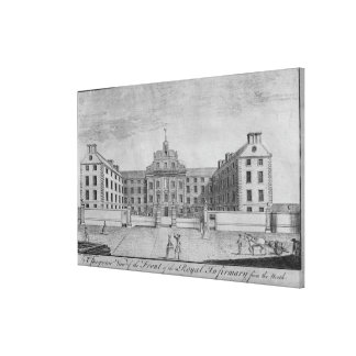 A Perspective View of the Front of the Royal Gallery Wrap Canvas