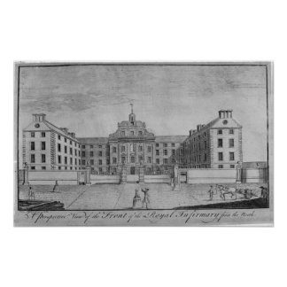 A Perspective View of the Front of the Royal Print