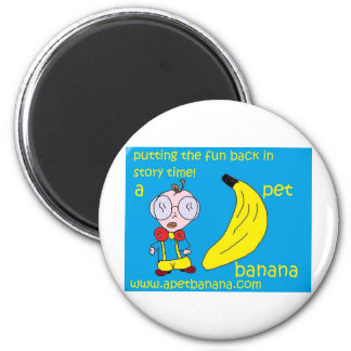 a pet banana production fridge magnets