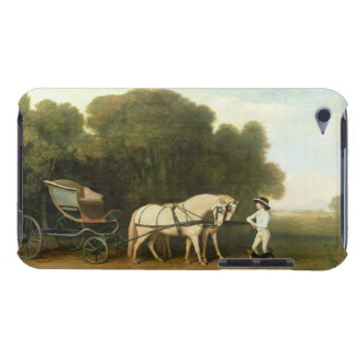 A Phaeton with a Pair of Cream Ponies in the Charg iPod Case-Mate Cases