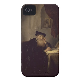 A Philosopher, 1635 (oil on panel) iPhone 4 Case