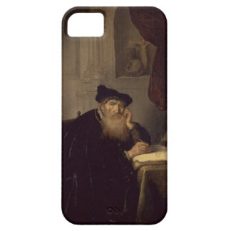 A Philosopher, 1635 (oil on panel) iPhone 5 Covers