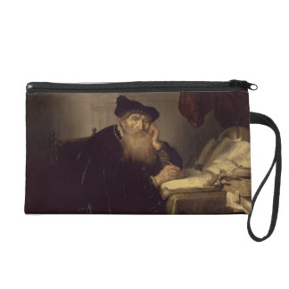 A Philosopher, 1635 (oil on panel) Wristlet Clutch